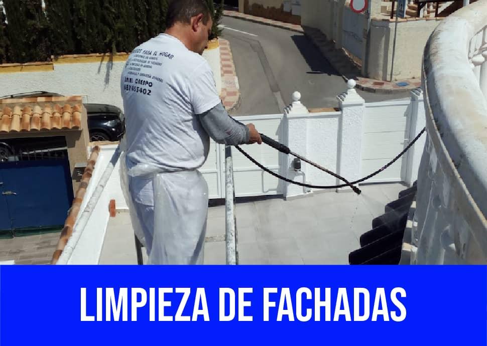 limpieza de fachadas Torrellano