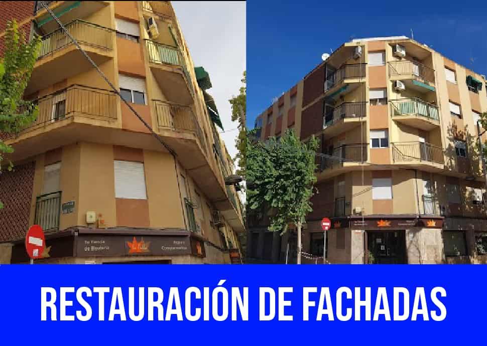 restauracion fachadas Torrellano
